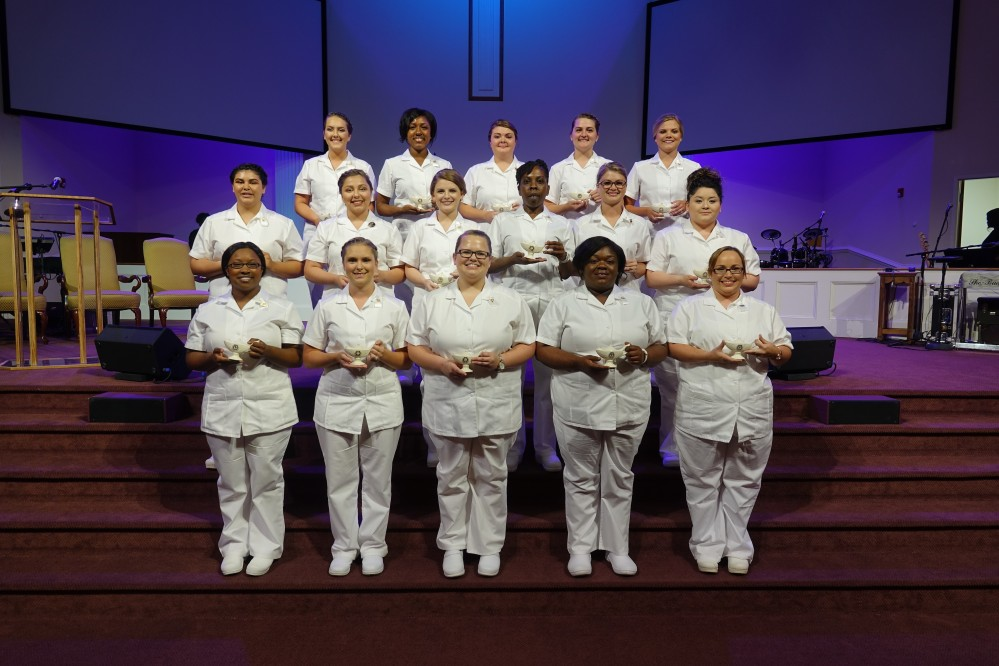 lpn Class Gets Pinned